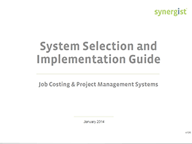System Selection & Implementation Guide
