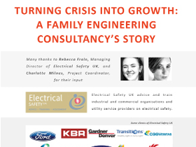 Electrical Safety UK case study infographic