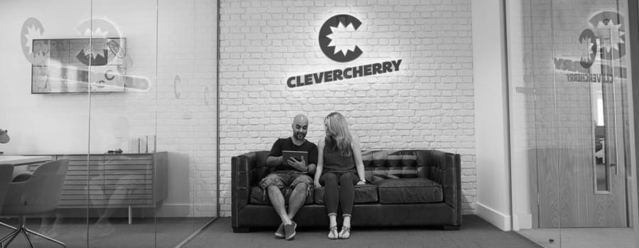 CleverCherry office reception area