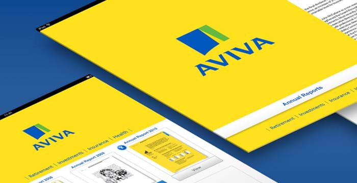 Mubaloo work done for client Aviva