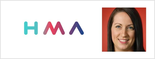HMA logo and Nicola Tiffany