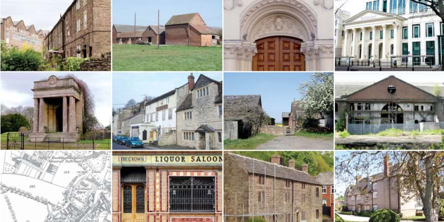 12 EDP projects including building preservation