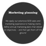 The Marketing Practice positioning on planning