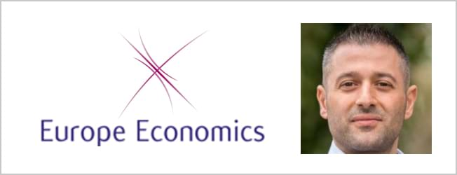 Europe Economics logo and Alexandros
