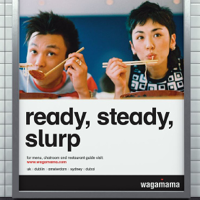 Client work by Dinosaur for Wagamama