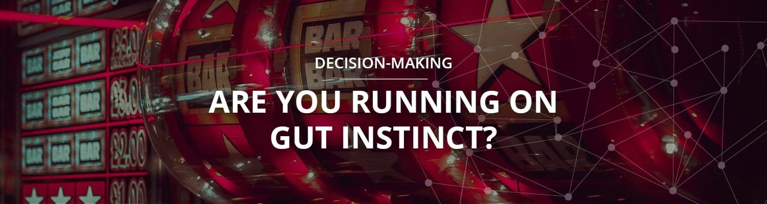 Running on gut instinct